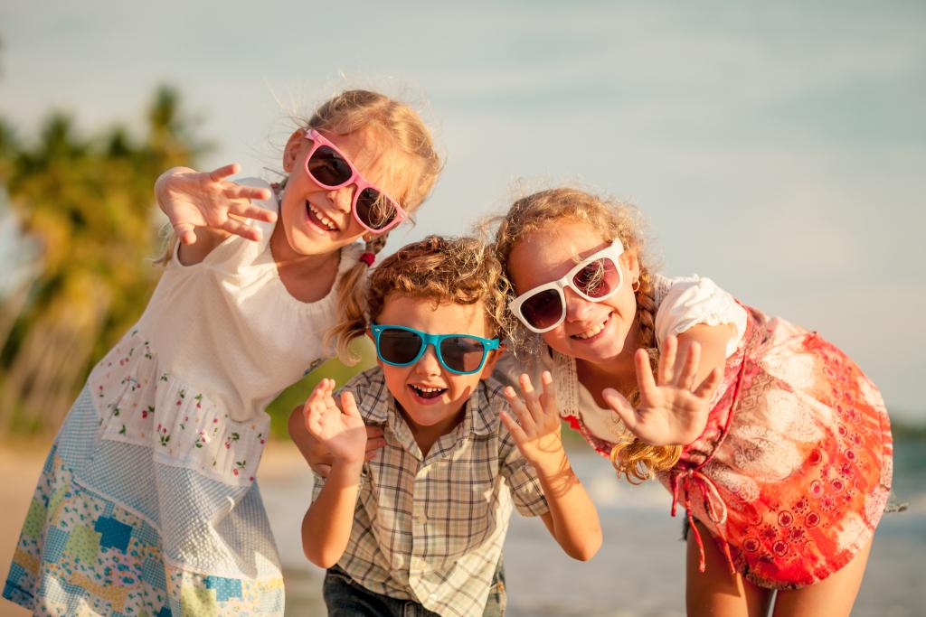 Kids Outdoors in Summer